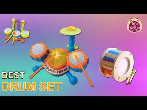 Best Drum Sets In 2018 : Why Your Child Needs A Set Of Drums