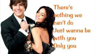 Just Wanna Be With You *Sing-Along Version*/ High School Musical 3
