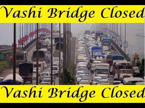 Vashi Creek Bridge Closed Completely For Vehicle Traffic