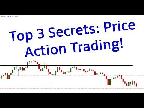 Top 3 Secrets: Price Action Trading (very IMPORTANT)