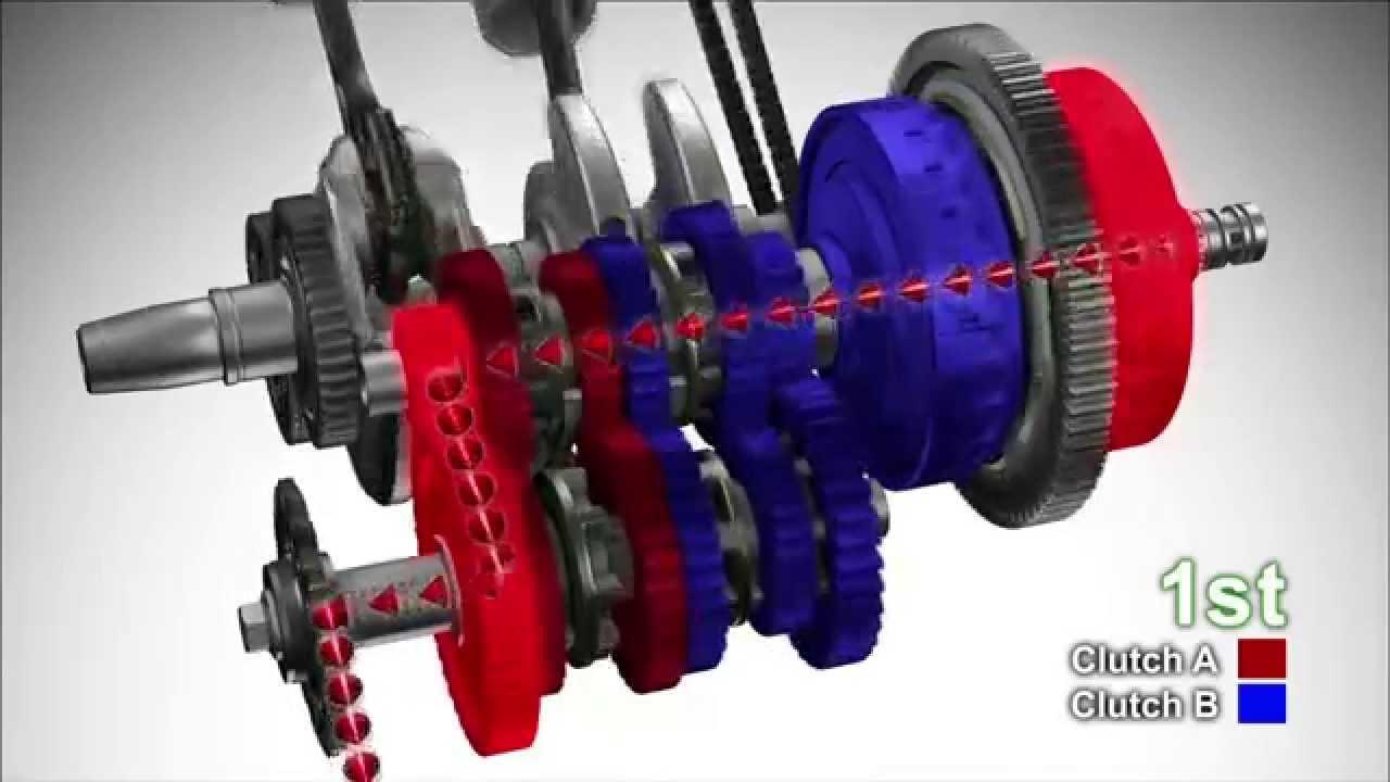Honda Dual Clutch Transmission With Nc700s Nc700x