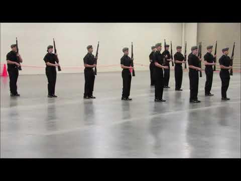 Atholton High School Drill Team Armed Exhibition Regionals 2019