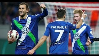 Wolfsburg 3 - 1 Inter All goals & Highlights 13-03-2015 VERY VERY COOL