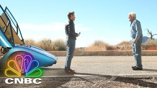 Robert Herjavec Drives Jay Leno In A Lamborghini Countach | CNBC Prime