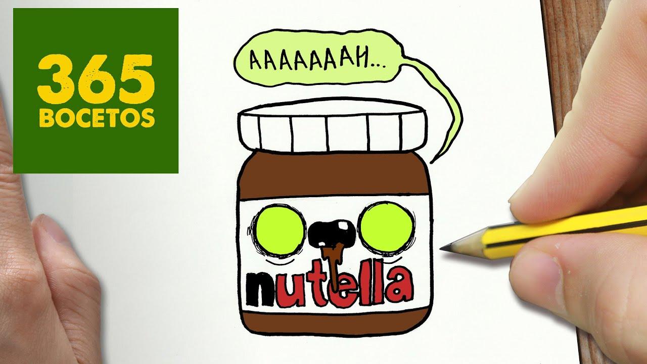 Como Dibujar Nutella Zombie Kawaii Paso A Paso Dibujos Kawaii