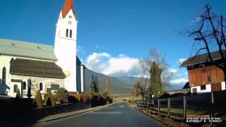 A: Kolsass. Bezirk Innsbruck-Land. Weer. Bezirk Schwaz. Ortsdurchfahrt. Dezember 2016