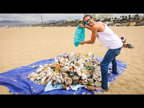 BEACH CLEAN UP!