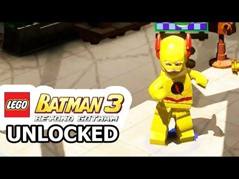 LEGO Batman 3: Beyond Gotham - How to Unlock Reverse Flash + Review