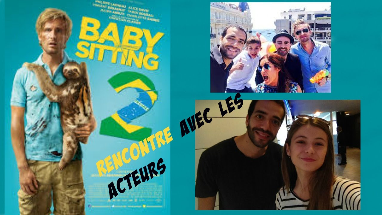 baby sitting 2 avant premi re rencontre avec les acteurs youtube. Black Bedroom Furniture Sets. Home Design Ideas