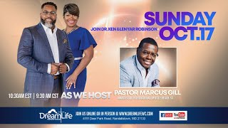 Dr. Ken speaks with Sunday's Guest Speaker Marcus Gill