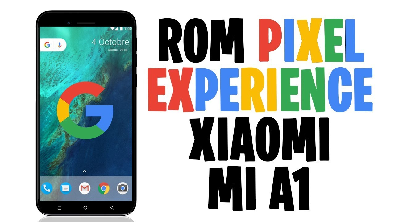 Pixel Experience A5 2017