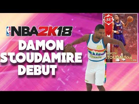 NBA 2K18 MyTeam Super Max - Ruby Damon Stoudamire Debut - Full Game Friday
