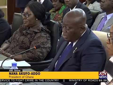 Outtara Visits Ghana - AM News on JoyNews (17-10-17)