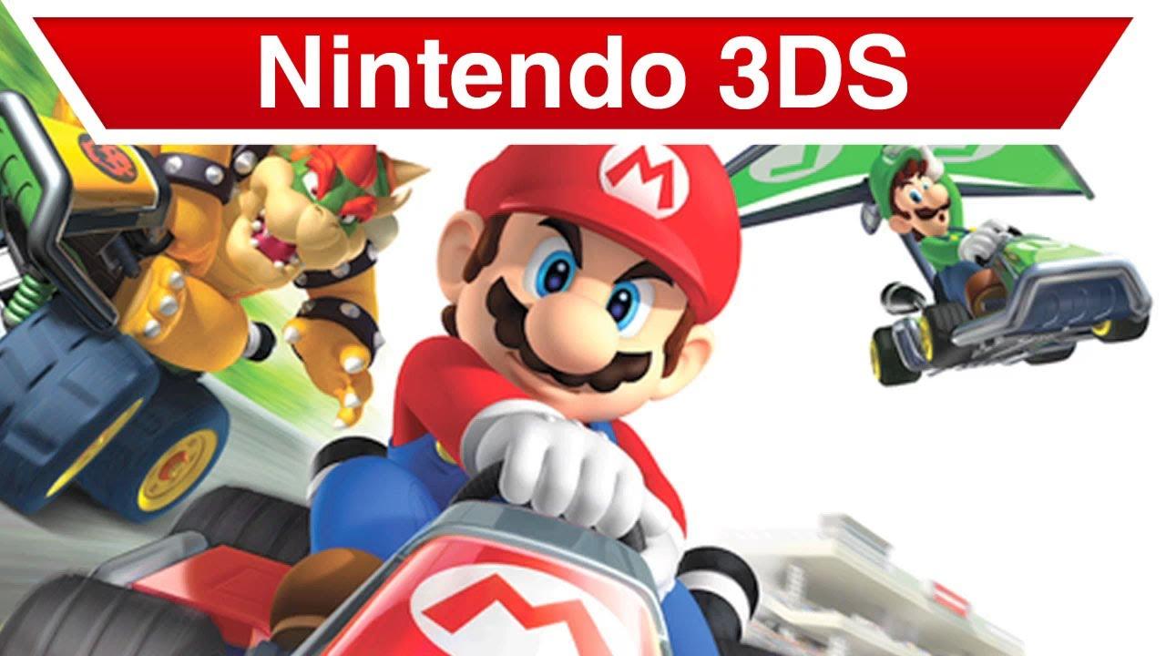 Nintendo 3ds Mario Kart 7 Trailer Youtube