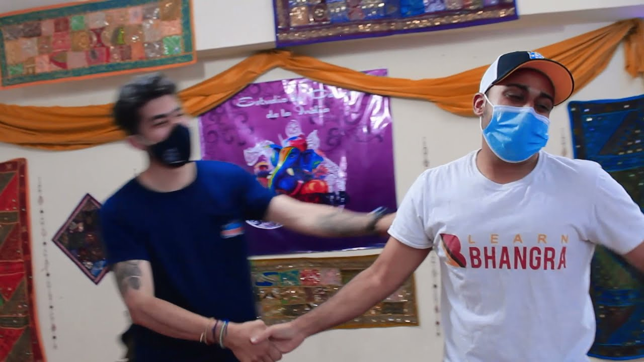 Bolivia Bhangra Dance Workshop   Learn Bhangra   Dil Deewana La Paz