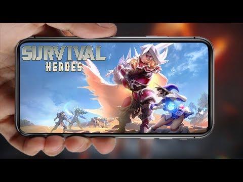 Survival Heroes: A Novidade Moba de Sobrevivência!!! To GRANDE!!! #ZigIndica 19 - Omega Play