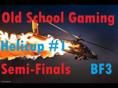 BF3 2on2 Heli Fight vs. Akbar Vertolyot   Semi-Finals - Old School Gaming Helicup #1