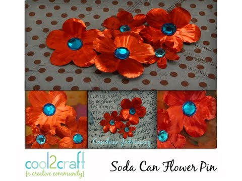 How to Make a Quick and Easy Soda Can Pin by Candace Jedrowicz
