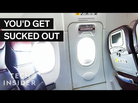 Why You Can't Open An Airplane Door Mid-Flight