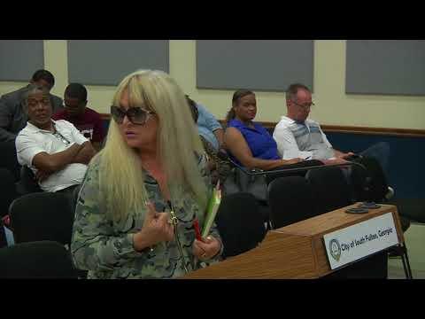 City Council Meeting - October 10, 2017