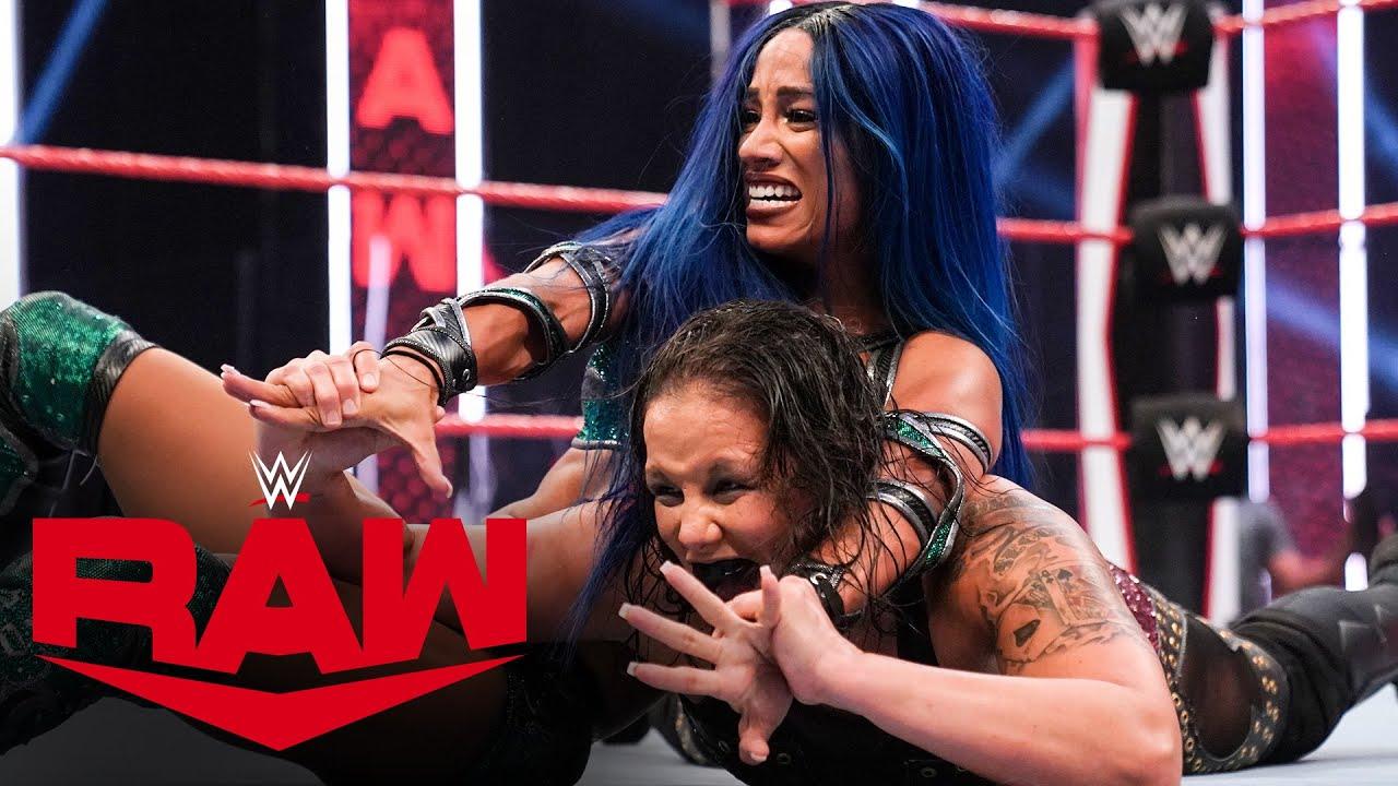Sasha Banks vs. Shayna Baszler: Raw, Aug. 3, 2020