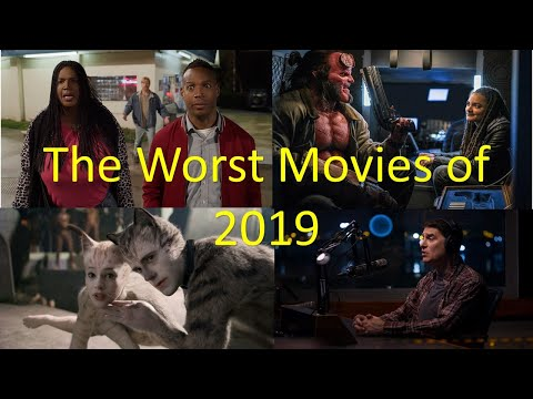 Top 20 Worst Movies of 2019