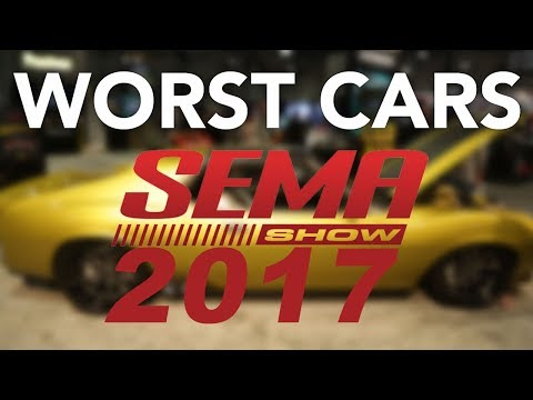 Top 6 Terrible Cars from the 2017 SEMA Show | Worst Cars of SEMA