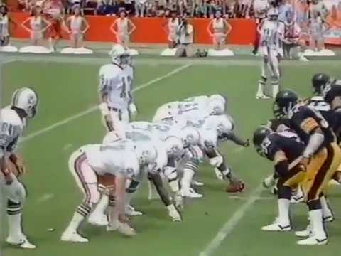 1985 Wk 05 Miami Defeats Pittsburgh 24-20; Highlights With Radio Call