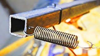 Простое приспособление для резки пенопласта! Нихромовый резак из профильной трубы?