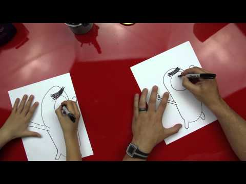 How To Draw Plankton