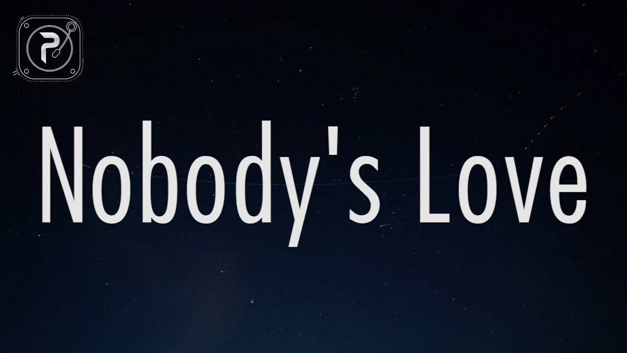 Maroon 5 - Nobody's Love (Lyrics)