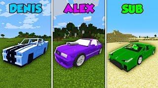 Baixar DENIS vs ALEX vs SUB - CAR BASE CHALLENGE in Minecraft! (The Pals)