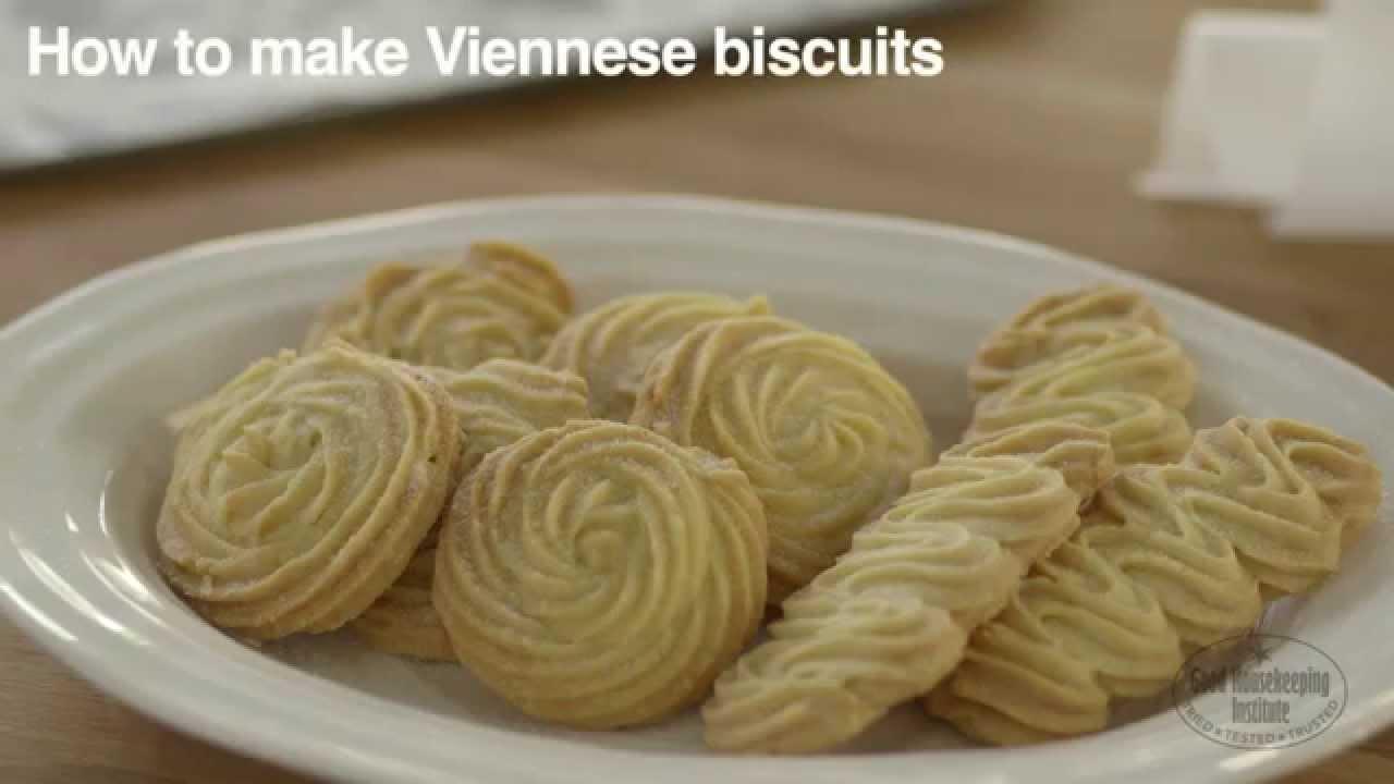 Viennese Biscuit Whirls Recipe Good Housekeeping Uk