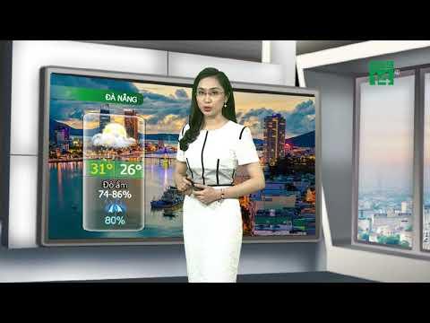 VTC14   Thời tiết các thành phố 02/06/2018   Từ Nha Trang trở vào thời tiết xấu, có mưa rào