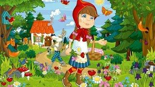Let's Play • Czerwony Kapturek • dla dzieci, po Polsku, Dobranocka czytana, bajki, Gry dla dzieci