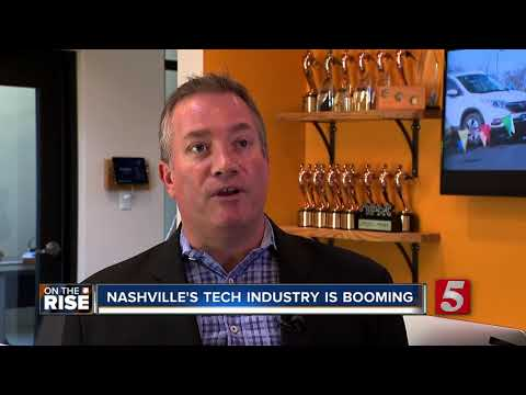 Nashville Sees Boom In Technology Jobs - On The Rise