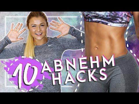 DAUERHAFT SCHLANK | Top 10 Abnehm Hacks