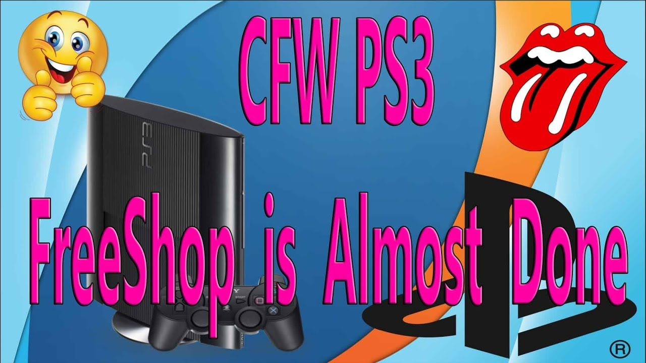 CFW PS3 FreeShop is Almost Done