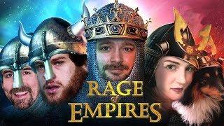 Die letzte Folge Rage Of Empires mit Florentin, Donnie, Marco & Marah
