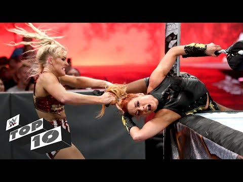 Brutal ring post attacks: WWE Top 10, July 8, 2019