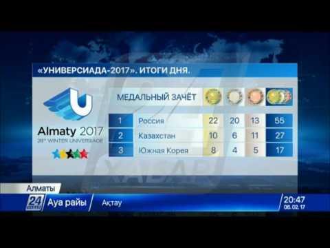 Универсиада-2017: Казахстан сохраняет второе место в общем медальном зачете