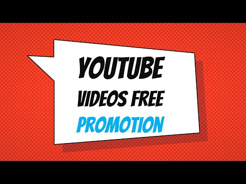 [FREE] How To Promote Your YouTube Videos