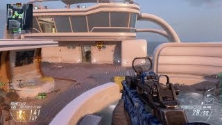 Black Ops 2 - Domination on Hijacked Type 25 Multiplayer Gameplay (Call Duty BO2 Online Game Play)