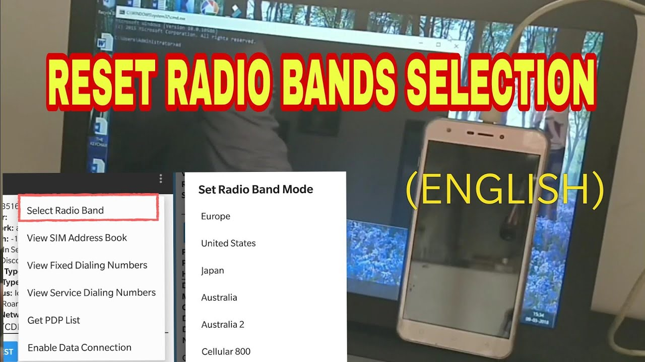 [SOLVED] HOW TO RESET RADIO BANDS SELECTION FROM *#*#4636#*#*