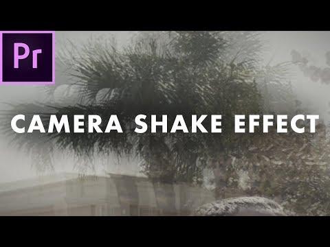 Camera Shake Effect in Premiere Pro CC 2018   Easy Tutorial