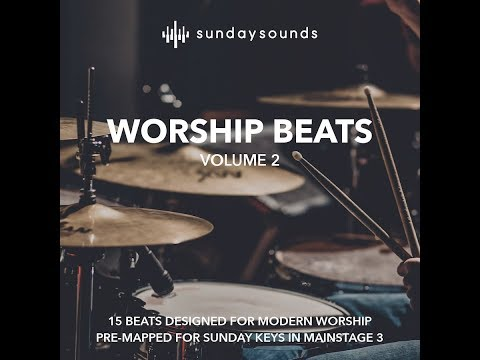 Worship Beats Vol 2- MainStage 3 worship loops