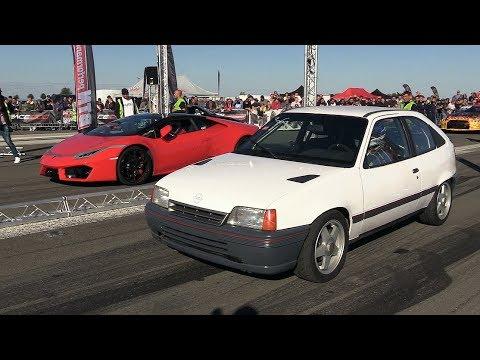 600HP Opel Kadett vs Lamborghini Huracán