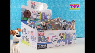 Secret Life Of Pets 2 Figural Bag Clip Keyrings Full Box Unboxing | PSToyReviews