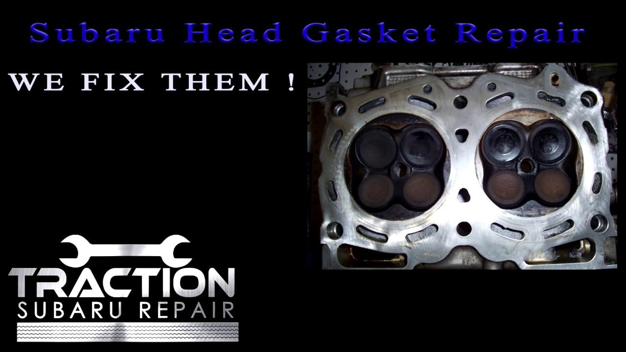 Subaru Head Gasket Replacement Cost Youtube