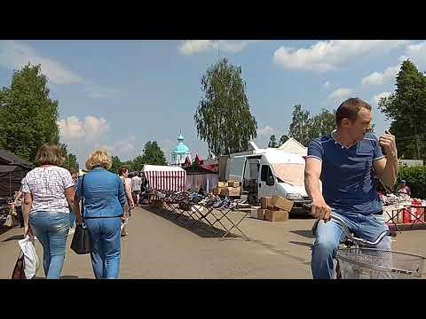 Понедельник - базарный день. Рынок в Тоншаево.